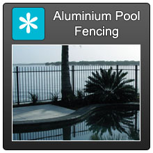 Home Aluminium Pool Fencing Blue X Norm