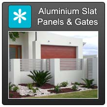 Home Aluminium Slat Panels Blue X Norm