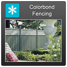 Home Colorbond Fencing Blue X Norm