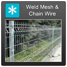Home Weldmesh Chainwire Fencing Blue X Norm