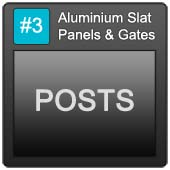 170 Alu Slatpanels Blue Button 3 Posts