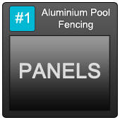 170 Aluminium Pool Blue Button 1 Panels