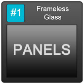 170 Frameless Blue Button 1 Panels