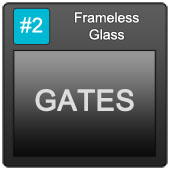 170 Frameless Blue Button 2 Gates