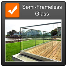 Cat Semi Frameless Fencing Orange T Over